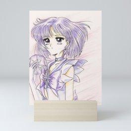 Sailor Saturn Hotaru with Soul Crystal Mini Art Print