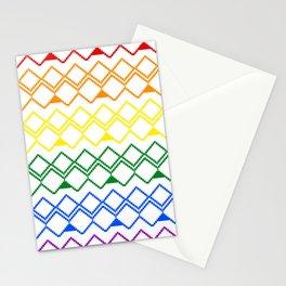 LGBT pattern Stationery Cards