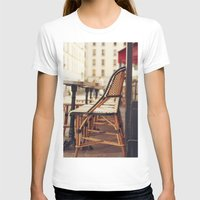cafe T-shirts featuring Paris Cafe by Nina's clicks