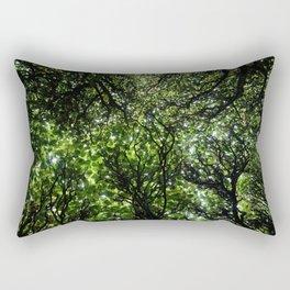 umbrella of trees Rectangular Pillow
