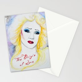 The Origin of Love Stationery Cards