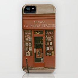 Librairie iPhone Case