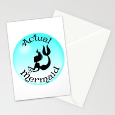 Actual Mermaid Stationery Cards