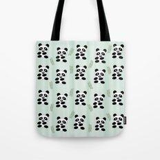 Panda pattern Tote Bag