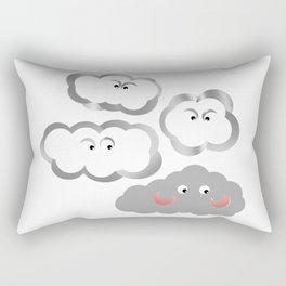 Awkward... Rectangular Pillow