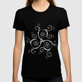 Magic Mandala Twisted Triskele T-shirt