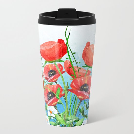 Flowers bouquet #16 Metal Travel Mug