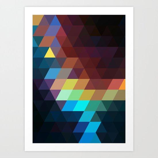 color story - spectrum Art Print