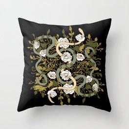 Divine Textile Throw Pillow