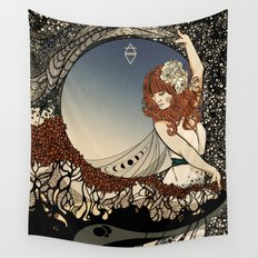 How Big, How Blue, How Beautiful Wall Tapestry