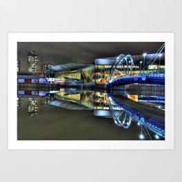Melbourne Exhibition Center Art Print