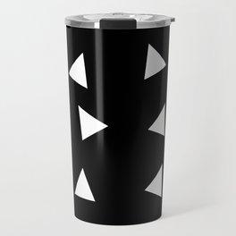 Triangle pattern B1 Travel Mug