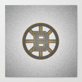 BostonBruins Logo Canvas Print