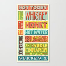 Hot Toddy Canvas Print