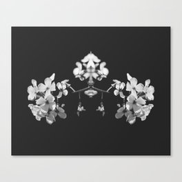 Mirrored Wildflower Canvas Print
