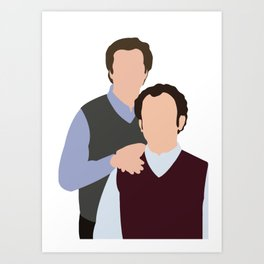 Step Brothers movie Art Print