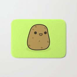 Cute potato Bath Mat