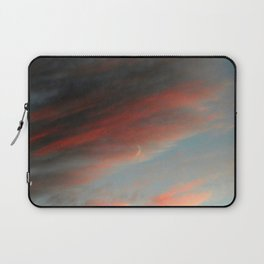 Moon and Sunset Laptop Sleeve