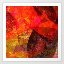 flames2 Art Print