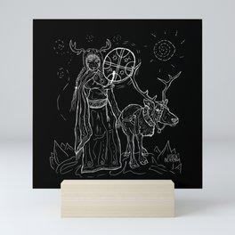 The Noaidi Mini Art Print
