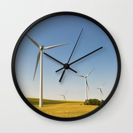 Technology and nature Wall Clock