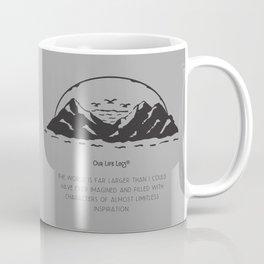 The World Is Far Larger Coffee Mug
