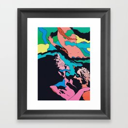 Triple Sec Framed Art Print