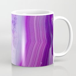 Magically Purple Agate Druzy Coffee Mug
