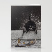 orca Stationery Cards featuring Orca by Lerson