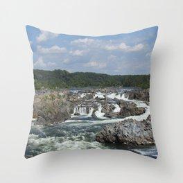 take a fall Throw Pillow