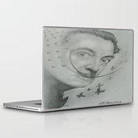 salvador dali Laptop & iPad Skins featuring Salvador Dali  by KennethShaw