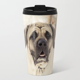 Portrait of English Mastiff Travel Mug