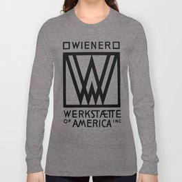 Wiener Werkstaette of America Long Sleeve T-shirt