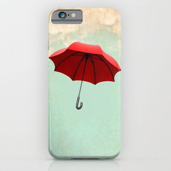 Red Umbrella iPhone & iPod Case