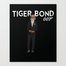 Tiger Bond Canvas Print