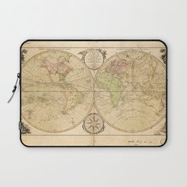 World Map by Carington Bowles (1791) Laptop Sleeve