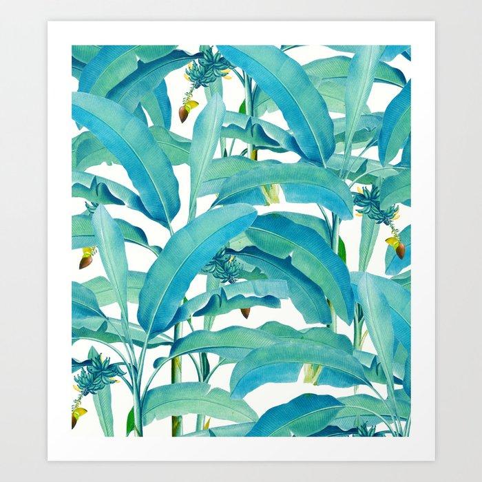 Banana Forest #society6 #decor #buyart Art Print