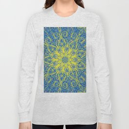sunburst blue Long Sleeve T-shirt