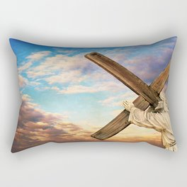 He has Risen Rectangular Pillow