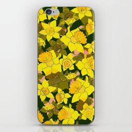Daffodil Forest iPhone Skin