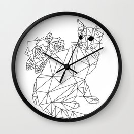 It's Got To Be Purrrfect Wall Clock