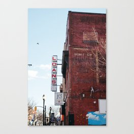Loans Canvas Print