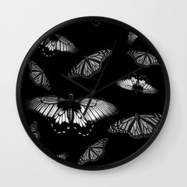 Butterflies 1 Wall Clock