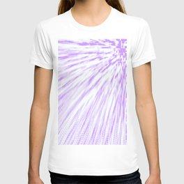 Lavender. Pixel Wind T-shirt