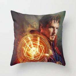 Sorcerer Supreme Throw Pillow