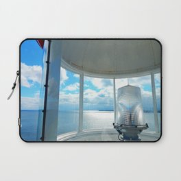 Souris Lighthouse View from the Top Laptop Sleeve