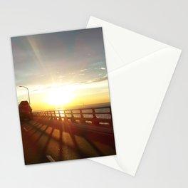 The Lake Maracaibo Bridge - I Stationery Cards