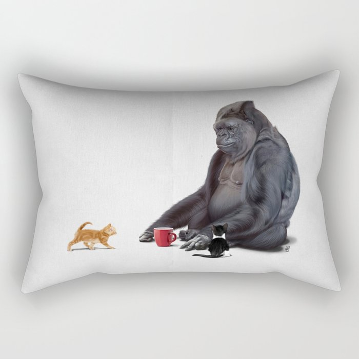 I Should, Koko (Wordless) Rectangular Pillow