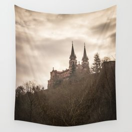 Basilica of Santa Maria la Real of Covadonga Wall Tapestry