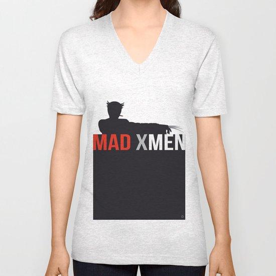 MAD X MEN Unisex V-Neck